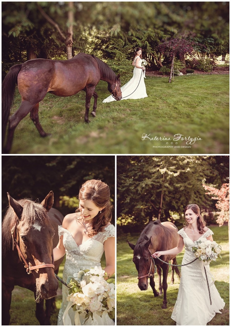 horse ranch wedding