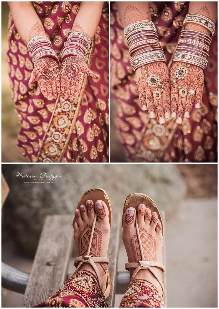 intimate indian wedding