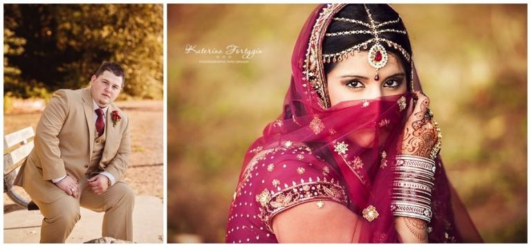 intimate indian wedding