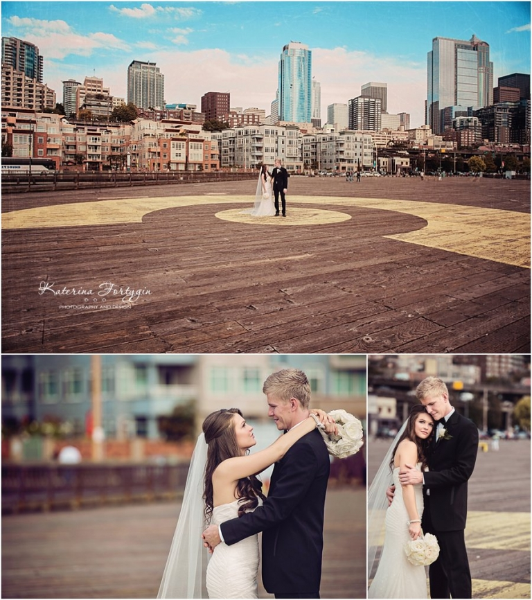 elegant seattle wedding