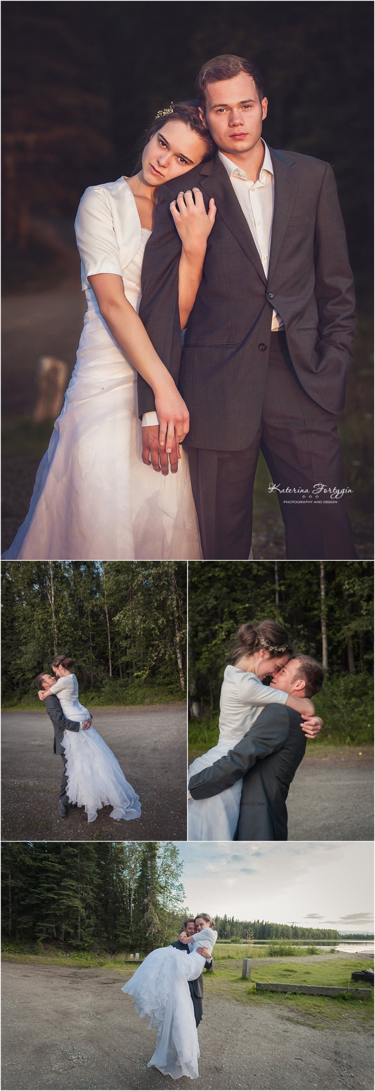 charming country wedding in Fairbanks Alaska by seattle based wedding photographer Katerina Fort Photography